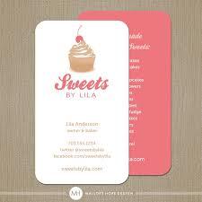 Catering Calling Card Design 101 Best Bake Images On Pinterest Corporate Identity Branding