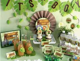 monkey baby shower decorations jungle baby shower jungle baby shower inspiration catch my party