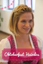 Wiesn Kurzhaarfrisuren Anleitung by Processed With Rookie Dirndls Oktoberfest Hair