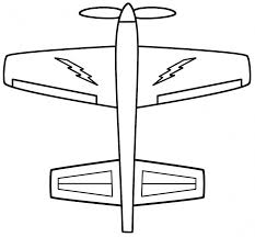 military airplane coloring pages drawing plane colouring