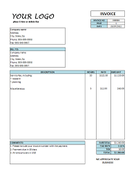 free sample invoice hourly invoice template hourly rate invoice templates free