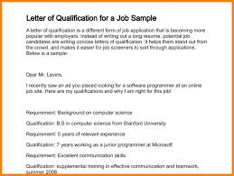 Resume Qualification Examples by 10 Statement Of Qualifications Example Case Statement 2017