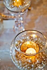 Christmas Table Decoration Ideas Beads by Best 25 Pearl Centerpiece Ideas On Pinterest Lace Vase