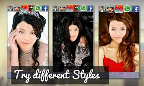 see what you would look like with different color hair hairstyles star look salon android apps on google play