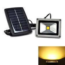 Outdoor Led Flood Lighting - 10w 20w 30w 50w solar led flood light for garden spotlight 12v