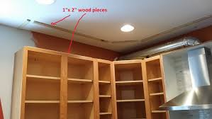Area Above Kitchen Cabinets Just The Right Size Kitchen Upgrade Status Closing In The Space