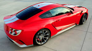 ford mustang modified ford gt and mustang mashup likely to be the talk of sema