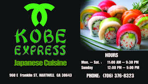 insert cuisine fresh sushi rolls with dining in or take out hartwell