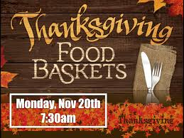 thanksgiving basket outreach harvestime
