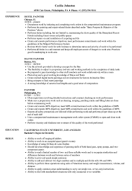 exle of a high school resume painter resume sles velvet