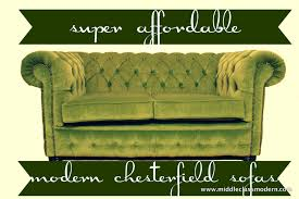 Chesterfields Sofas by Middle Class Modern Super Affordable Chesterfield Sofas