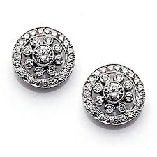 small diamond earrings diamond earrings small diamond rubover and halo earrings