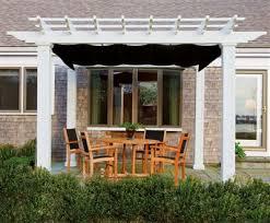 shade canopy for straight top pergola