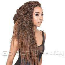 Curly Hair Braid Extensions by Aliexpress Com Buy New Fashion Folded Senegalese Synthetic Hair