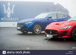 custom maserati ghibli maserati levante suv u0026 maserati ghibli stock photo royalty free