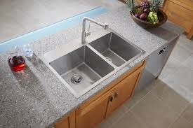 Granite Sinks Furniture Exciting Elkay Sinks With Graff Faucets For Modern