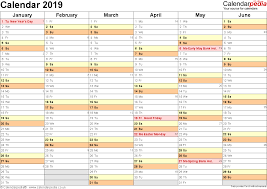 weekly planner word template calendar 2019 uk 16 free printable word templates template 3 yearly calendar 2019 as word template landscape orientation 2 pages