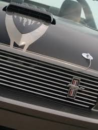 Black Mustang Grille Emblem Ford Mustang Emblems At Andy U0027s Auto Sport