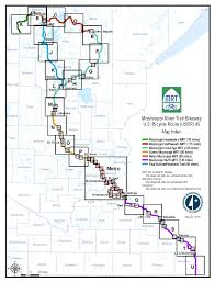 Mn State Park Map by Maps Mississippi River Trail Mndot