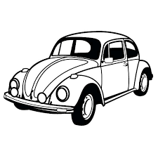 vw bug coloring pages