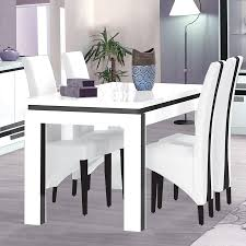 Table Ronde Extensible Blanche by Table Laque 8 Places U2013 Chaios Com