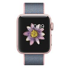 apple watch light blue apple watch series 2 38mm rose gold with woven strap ivizi