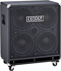 4x10 Guitar Cabinet Fender Rumble Bass Extension Cabinet 4x10