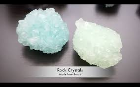 Decorative Crystal Rocks Diy Grow Large Crystals For Room Decor Youtube