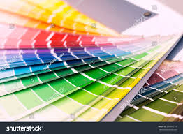 color wheel choosing paint tone stock photo 398493214 shutterstock