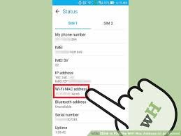 android mac how to find the wifi mac address on an android 5 steps