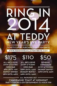 new years party package new year s restaurant teddy the bully bar