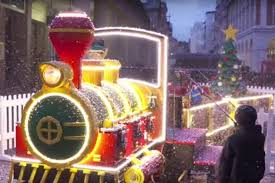 event tv lego u0027s christmas train in action