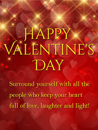 valentines day lights laughter and light shining happy s day card birthday
