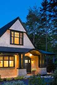 Farmhouse Style Architecture by Shingle Style Cottage In The Seaside Village Of Seal Harbor Maine