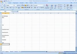 Creating A Spreadsheet How To Create A Budget Microsoft Excel Bt