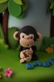 cheeky monkey fondant monkey monkey and cake
