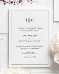 wording wedding invitations3 initial monogram fonts glam monogram letterpress wedding invitations letterpress wedding