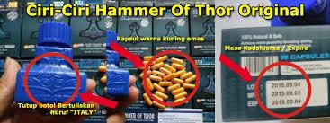 ciri ciri hammer of thor asli hammer of thor original