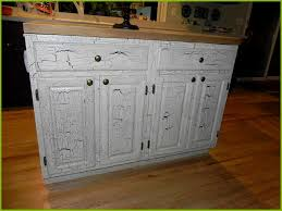 Crackle Paint Kitchen Cabinets