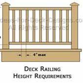 deck railings materials designs styles building tips