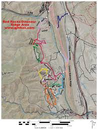 South Park Colorado Map by Gjhikes Com Geologic Overlook