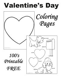 Preschool Valentine S Day Coloring Pages Coloring Pages Preschool