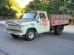 Ford F 250 Natural Gas Truck - 1959 ford f 250 stake bed ranch truck project cars for sale