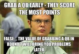 Draft Day Meme - pretty draft day meme the extra period 2013 fantasy football guide
