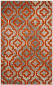 Grey And Orange Area Rug Safavieh Safavieh Porcello Prl7734 Light Grey Orange Area Rug