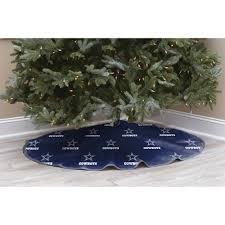 nfl licensed logo christmas tree skirt dallas cowboys walmart com