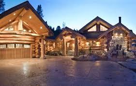 log cabin garage plans magnificent log home floor plans with loft and garage using modern