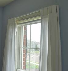 Making A Window Valance How To Make A Window Treatment Using A Tablecloth In My Own Style