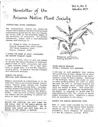 illinois native plant society calaméo winter 1977 the plant press arizona natiave plant soceity