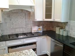 kitchens backsplash emser tile trav ancient tumbled silver customer pictures